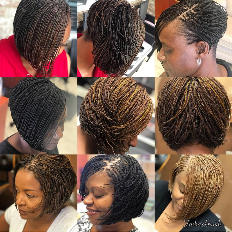 Short Micro Bob Plaits